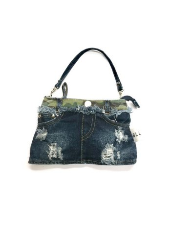 <img class='new_mark_img1' src='//img.shop-pro.jp/img/new/icons8.gif' style='border:none;display:inline;margin:0px;padding:0px;width:auto;' />BLUER DENIM BAG MINI(SKIRTS)