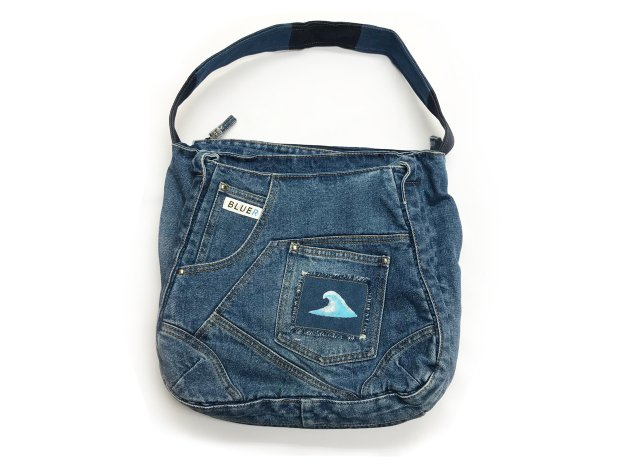 BLUER DENIM BAG(9pockets)
