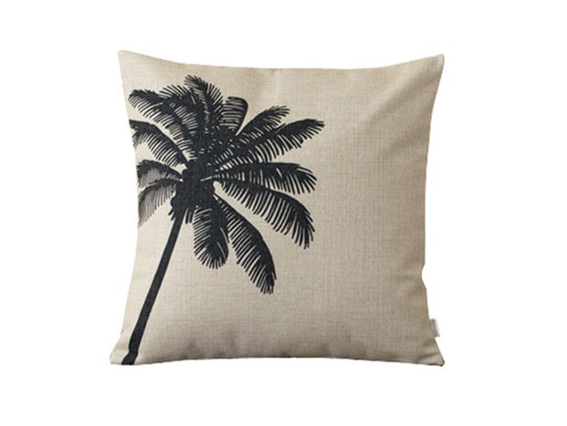 <img class='new_mark_img1' src='//img.shop-pro.jp/img/new/icons8.gif' style='border:none;display:inline;margin:0px;padding:0px;width:auto;' />Natural Linen Cushion-Hemp-PalmTree