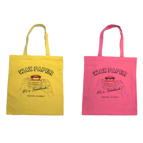 <img class='new_mark_img1' src='//img.shop-pro.jp/img/new/icons8.gif' style='border:none;display:inline;margin:0px;padding:0px;width:auto;' />★Special POP-UP【WAX PAPER】SHOP BAG 2枚set