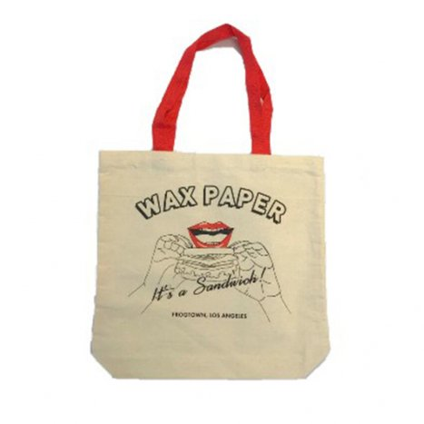 <img class='new_mark_img1' src='//img.shop-pro.jp/img/new/icons8.gif' style='border:none;display:inline;margin:0px;padding:0px;width:auto;' />★Special POP-UP【WAX PAPER】TOTE BAG