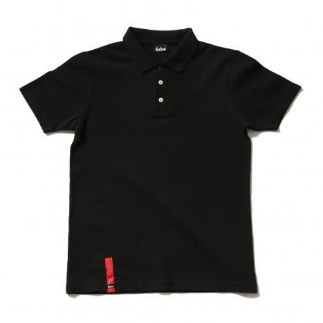 【SpecialSale】 KANOKO LUXURY POLO |鹿の子30/2太糸ポロシャツ(BLK)