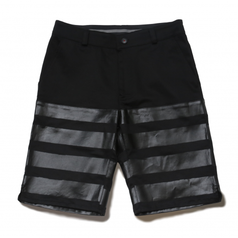 【SpecialSale】 HALF SHORTS−SATURN−|ストレッチハーフパンツ(BLACK)