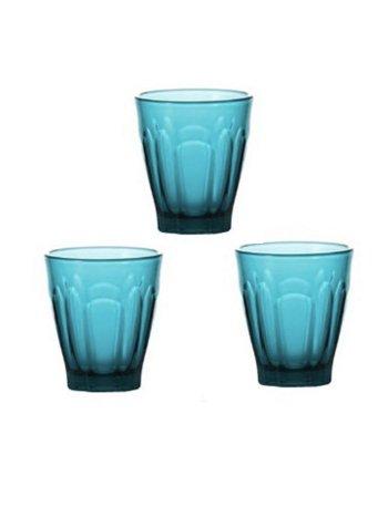 ターコイズグラス(3個set)
