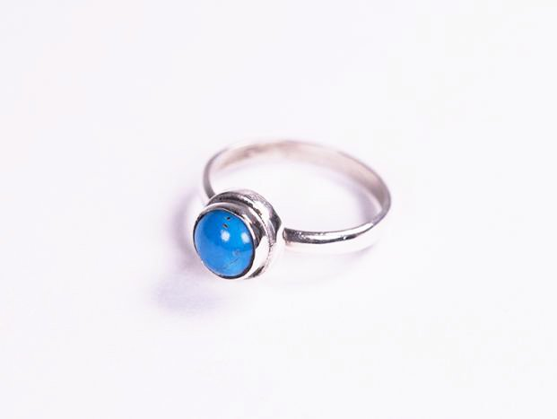<img class='new_mark_img1' src='//img.shop-pro.jp/img/new/icons59.gif' style='border:none;display:inline;margin:0px;padding:0px;width:auto;' />【限定】handmade blue turquoise  pinky ring