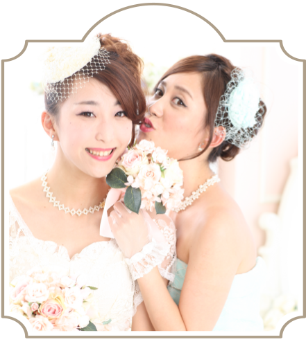bride-bridesmaid