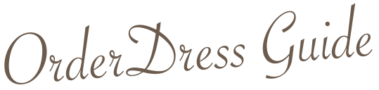 orderdress-guide