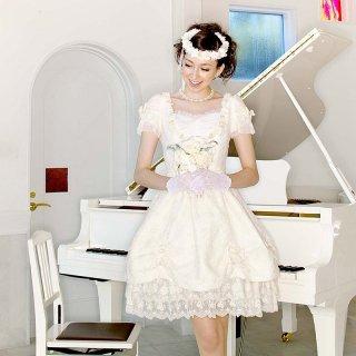 【レンタルドレス】スイートハート リボンドレス オフホワイト