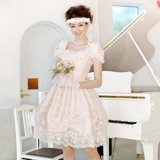 スイートハートリボンドレス ピンク