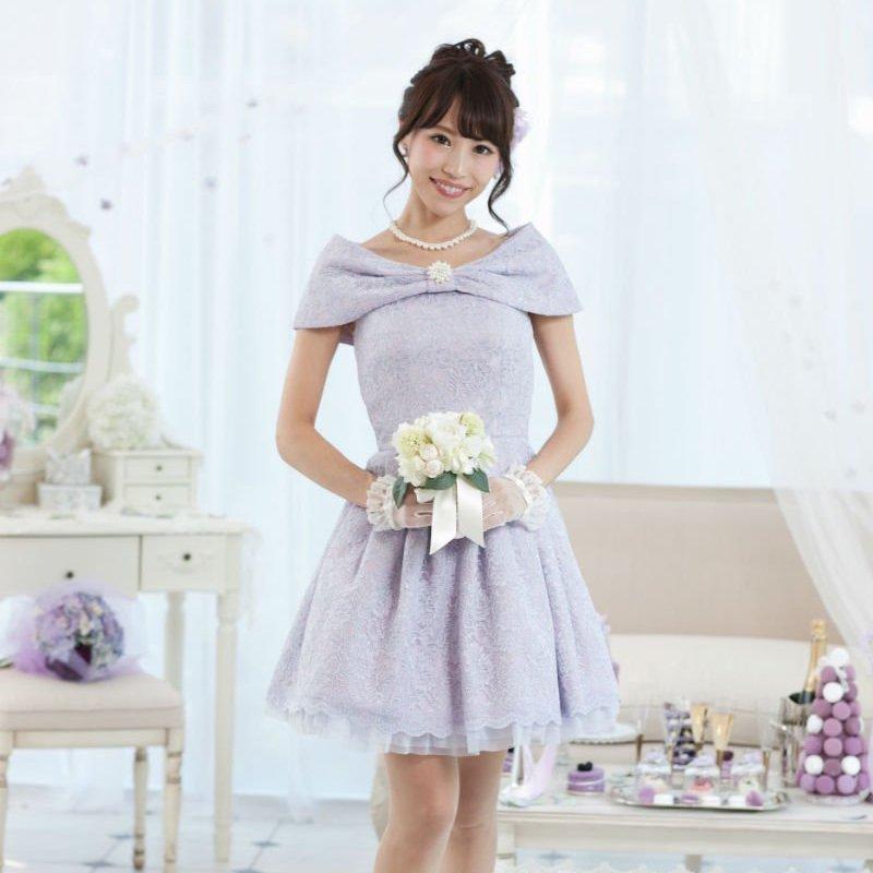 コードレースローブデコルテブライズメイドドレス , ゲストドレスやパーティードレスのレンタル販売|チェリーピーチブロッサム