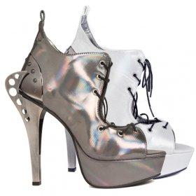 ホログラム加工ボディのレースアップシューズSTELLAR|hadesブランド靴通販