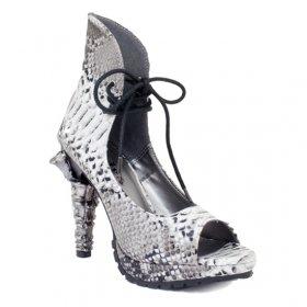パイソン柄クロウヒールサンダルVAMP|hadesブランド靴通販