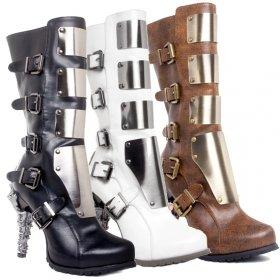 金属版で前面を守られたロックなブーツVARGA|ヘイディーズ-hades-靴ブランド通販