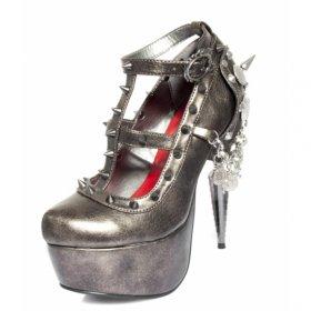トゲトゲスタッズなメタリックパンプスTRINITY|ヘイディーズ-hades-靴ブランド通販