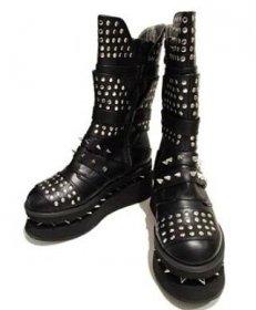 (海外取寄)スタッズがロックなフラットブーツSPEKTOR|ヘイディーズ-hades-靴ブランド通販