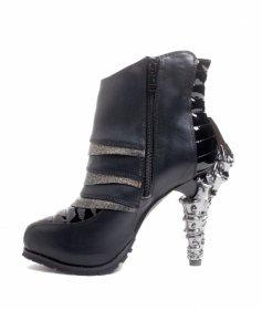 国内発送品 近未来でサイバーなショートブーツSIDHE|ヘイディーズ-hades-靴ブランド通販