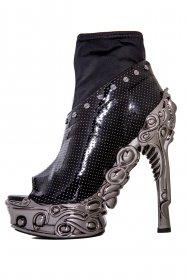 ミニエアホールのシルバースタッズ付ホログラムフィットサンダル  VALERIA |ヘイディーズ-hades-靴ブランド通販