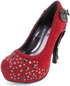 (海外取寄)ビジューが付いてエレガントなパンプスAMINA|ヘイディーズ-hades-靴ブランド通販