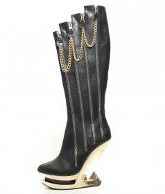 国内発送 セレブでロックなブーツONYX|ヘイディーズ-hades-靴ブランド通販