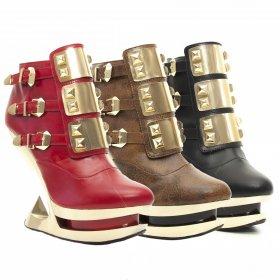 海外取寄 ロックでカジュアルなブーティーGLEAM|hadesブランド靴通販