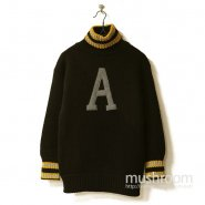 WW1 USMA WEST POINT TURTLE-NECK SWEATER