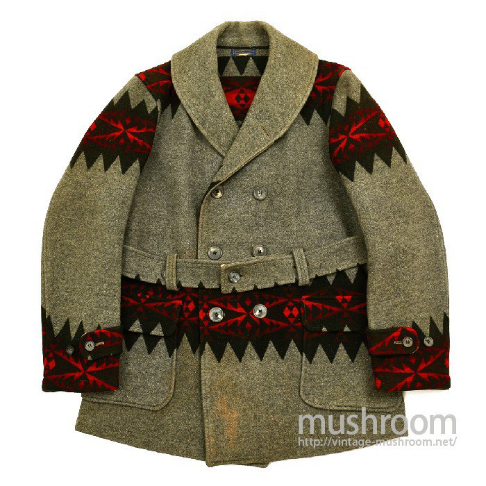 PENDLETON-BLANKET-MACKINAW-COAT