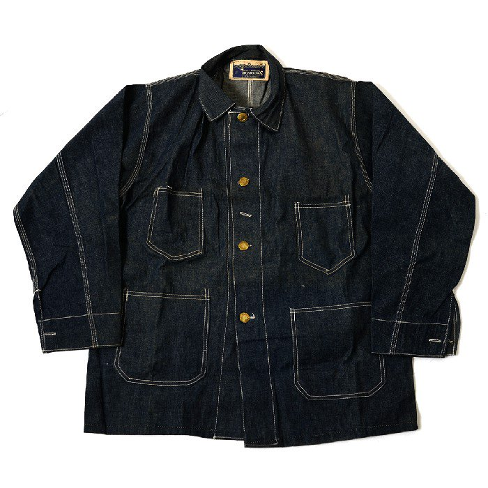 SWITCHMAN DENIM COVERALL(DEADSTOCK)