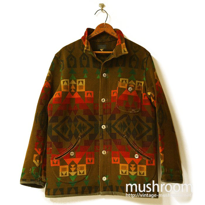 PENDLETON NATIVE BLANKET WOOL JACKET