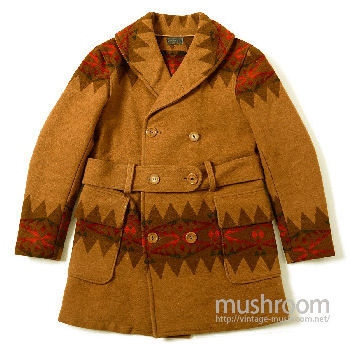PENDLETON NATIVE BLANKET MACKINAW COAT