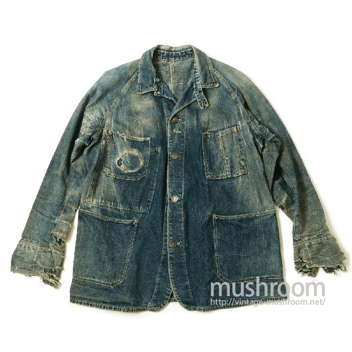 PAYDAY DENIM COVERALL With CHINSTRAP