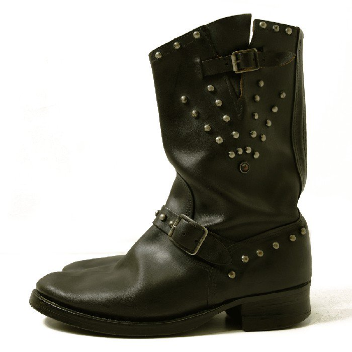ENDICOTT JORNSON STUDDED ENGINEER BOOTS