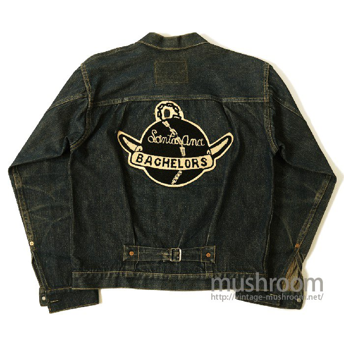 LEVIS 506XX CAR CLUB DENIM JACKET