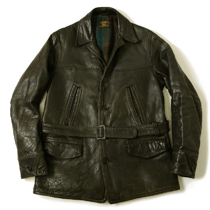 HORSEHIDE SINGLE CAR COAT