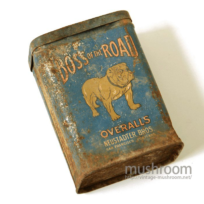 BOSS OF THE ROAD ORDER TICKET TIN BOX