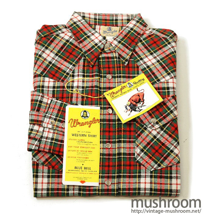 Wrangler 800MW Western Shirt(Deadstock)