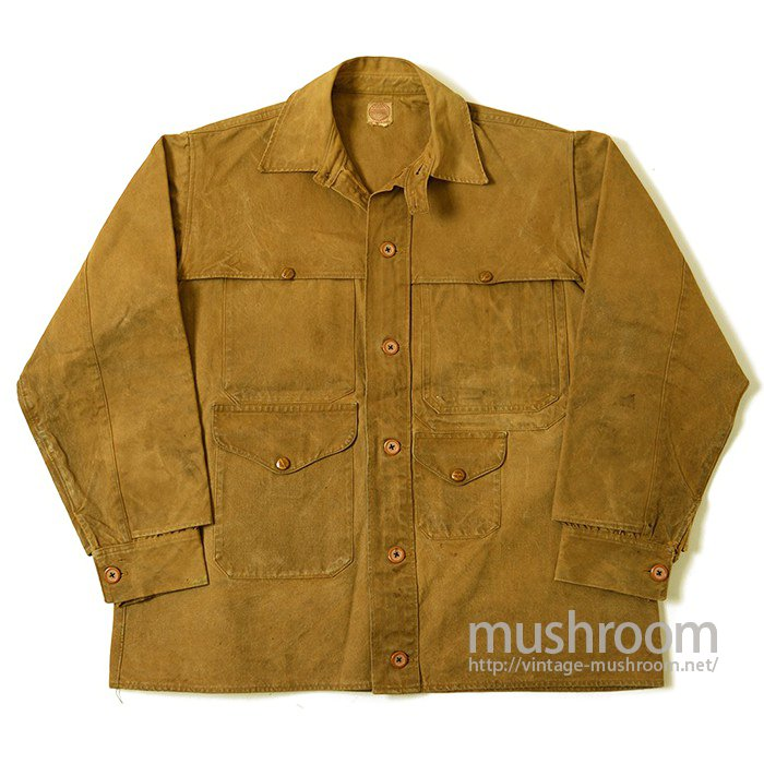 FILSON DOUBLE TIN CLOTH CRUISER JACKET