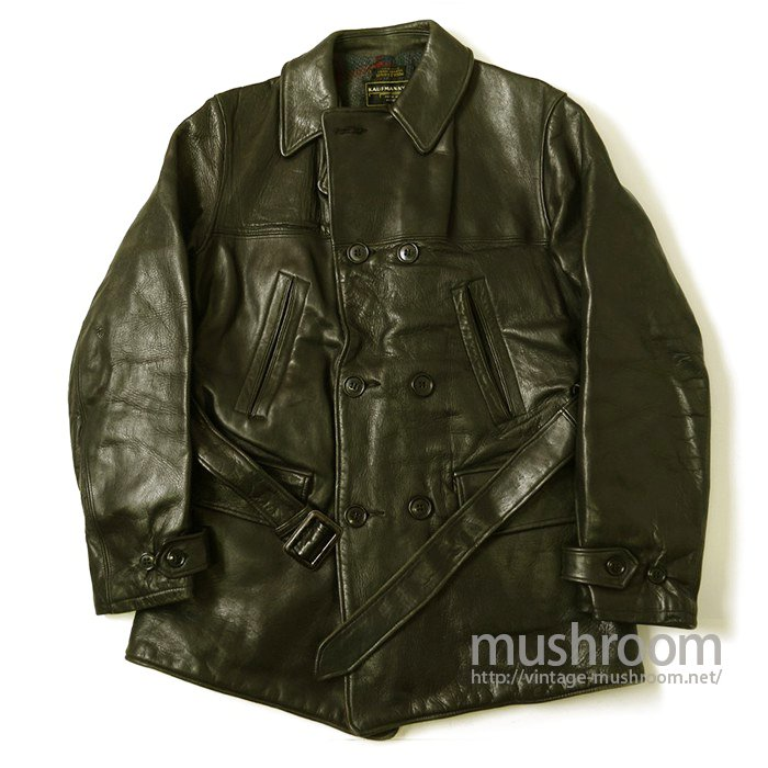 KUFMAN'S Double Breasted Horsehide Car Coat(Deadstock)