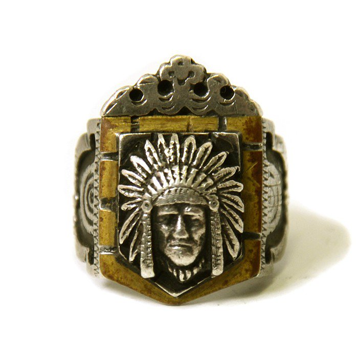 OLD MEXICAN'S RING(INDIAN)