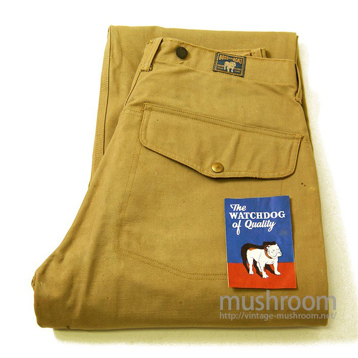 BOSS OF THE ROAD LOGGER PANTS(DEADSTOCK)