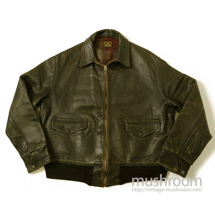 A-1 STYLE HORSEHIDE LEATHER SPORTS JACKET