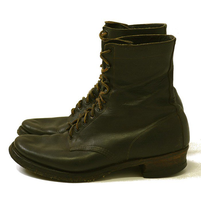 Bone-Dry Horsehide Leather Boots