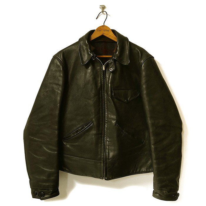 ROUGH WEAR HORSEHIDE LEATHER SPORTS JKT(MINT)