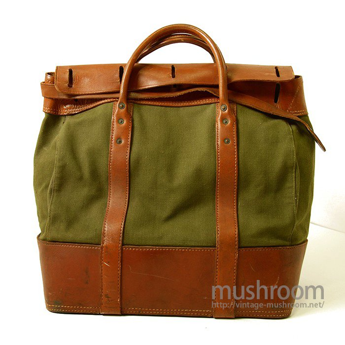 U.S.N POSTAL MONEY CANVAS AND LEATHER BAG(DEADSTOCK)