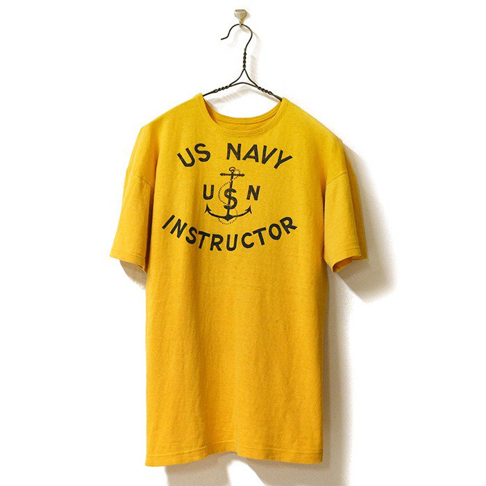 U.S.NAVY INSTRUCTOR COTTON T-SHIRT