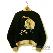 JAPAN SOUVENIR JACKET With SKULL EMBROIDERY