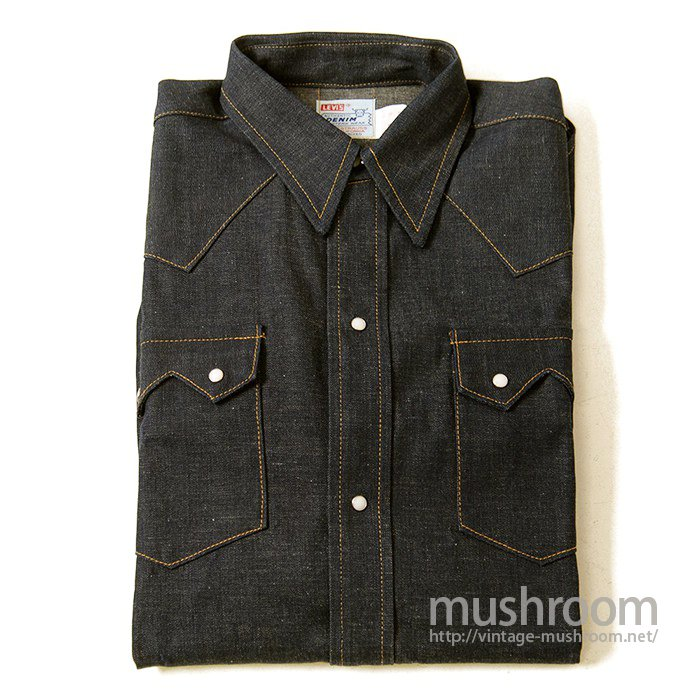 LEVIS SHORTHORN DENIM SHIRT(DEADSTOCK)