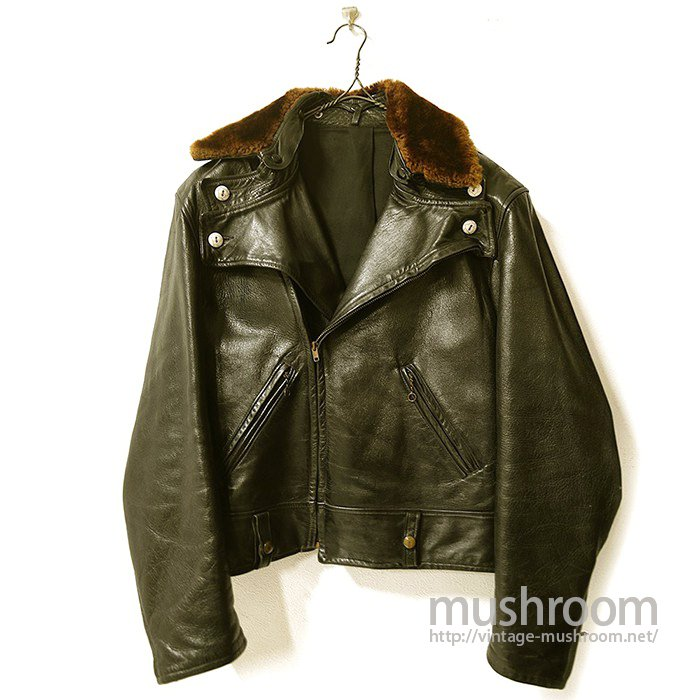 Peter's Motorcycle Leather Jacket