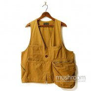 Abercrombie & Fitch Canvas Fishing Vest