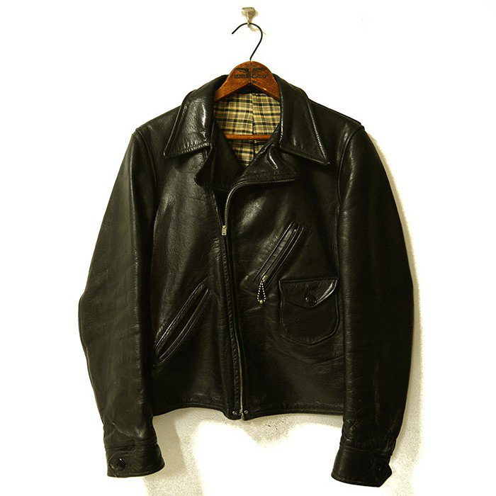 Block Bilt Horsehide Leather Sports Jacket