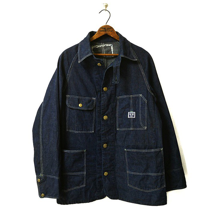 N&W DENIM COVERALL( MINT )